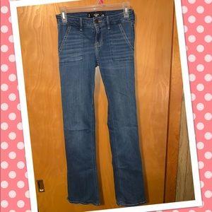 Nwot Hollister bootcut Jeans Sz 3R